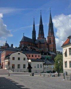 Cathédrale d'Uppsala de nos jours