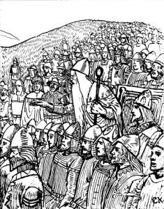 a°) Organisation sociale et religieuse dans I°) La civilisation Scandinave illustration-thing-235x300